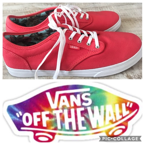 Vans Zapatos Tb4rlace Up Canvas Sneaker Bright Rojo 95 95 Rojo Poshmark 4179af